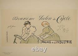 Original Poster Maitre de l'Affiche PL 51 Salon du cycle Palais de lindustrie