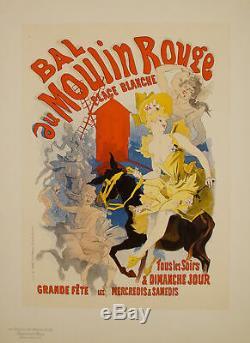 Original Poster Maitre de l'Affiche PL 53 Bal au Moulin Rouge Jules Cheret
