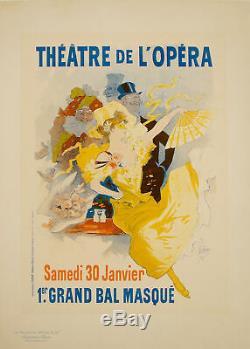 Original Poster Maitre de l'Affiche PL 57 Théâtre de L'opéra Jules Cheret