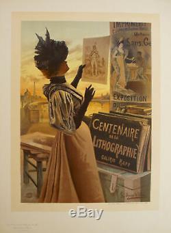 Original Poster Maitre de l'Affiche PL 66 Centenaire de la lithographie Alesi