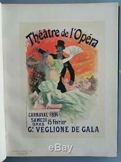 Original Poster Maitre de l'Affiche PL 9 Théâtre de L'opéra Jules Cheret