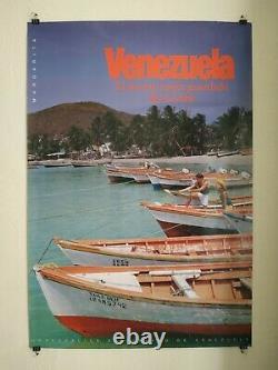 Original Travel Poster, affiche Venezuela Margarita