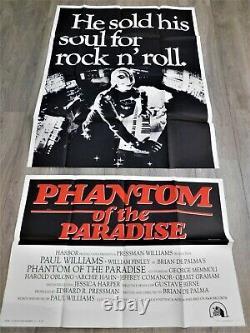 Phantom of the Paradise Affiche US ORIGINALE Poster 104x205cm Brian de Palma