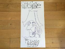 Picasso Affiche Pour Exposition Original Salon Gaspar 1971 Edition Limitée 500