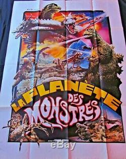 Planete des Monstres Affiche ORIGINALE 120x160cm POSTER One Sheet 4763 Honda