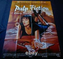 Pulp Fiction Affiche ORIGINALE 120x160cm POSTER One Sheet 47 63