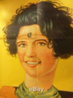 Rare ANCILLOTTI CIRQUE Affiche original 1914's Antique Magic poster Circus