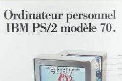 Rare Poster Affiche IBM France Original PS/2 modèle 70 8570
