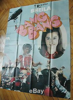 Sheila Bang Bang Rare 1967 Affiche French Poster Original