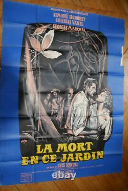 Simone Signoret La Mort En Ce Jardin 1956 Poster Affiche Original Bunuel