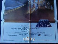 Star Wars IV Affiche US BOOTLEG ORIGINALE 68x104cm POSTER One Sheet 2741