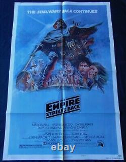 Star Wars V Empire Attaque Affiche US ORIGINALE 68x104cm POSTER One Sheet 2741