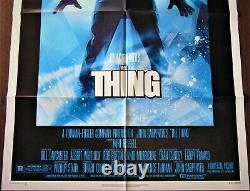 The Thing Affiche ORIGINALE US 68x104cm POSTER One Sheet 2741