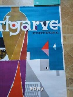 Travel Original poster Affiche ancienne Portugal l Algarve